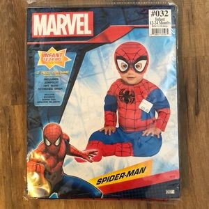 New Spider-Man costume size 12-24 months